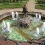 A fountain 'Free Bird of Happiness' = present from one of Russian Banks
